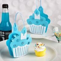 A Blue Cupcake Treat Bag