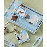 A Baby Boy Carriage Key Chain