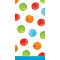 1st Birthday Boy Dots large Tablecover