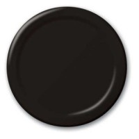 Pack of 24 Black Plates