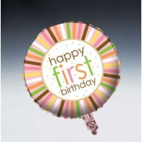Sweet at One Girl Foil Balloon