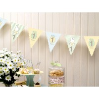 1st Birthday Miffy Bunting