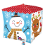 Snowman & Santa Cubez Balloon - 24'' Foil