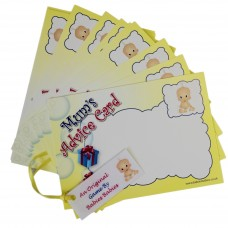 Mum's Advice Cards (white Baby) - Pack of 10