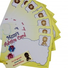 Mum's Advice Cards - Ethnic Baby - Pack of 10
