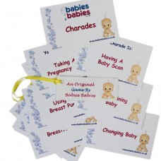 Baby Shower Charades  (pack of 12)
