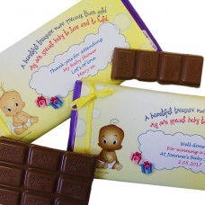 Chocolate Bar with Personalised Wrapper