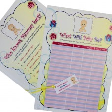 Pack of Two Baby Shower Games
