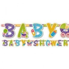 Baby Shower Pastel Jointed Banner