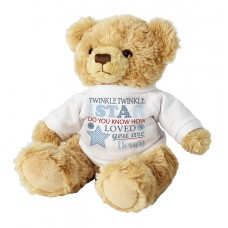 Twinkle Boys Teddy Personalised